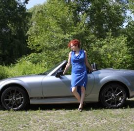 Krystyna Lagowski Mazda MX-5 Miata
